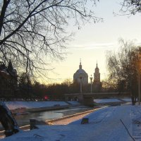Солнце заходит. :: Борис Митрохин