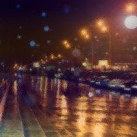 Аллея под дождем :: Ольга Назаренко