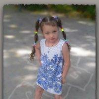 Маленькая модница..... :: Людмила Богданова (Скачко)