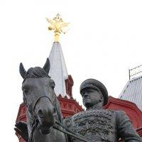 Жуков на Цезаре :: Юрий Кольцов
