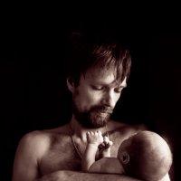 папа и сын :: Мария Корнилова