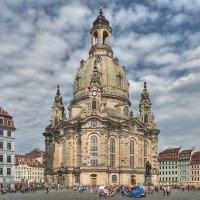 Фрауэнкирхе в Дрездене :: Юрий Мазоха