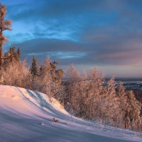 Зимний склон :: vladimir Bormotov