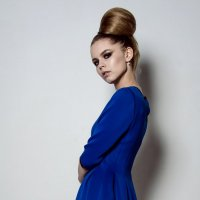 blue dress :: Марк Додонов