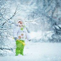 Первый снег! :: Елена Рябчевская