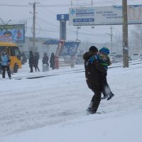 03 12.15г Хабаровск засыпало снегом :: Николай Сапегин