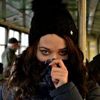 Девушка в трамвае :: Кристина Истратова