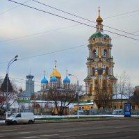 Новоспасский мужской монастырь :: Лара ***