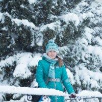 По дороге в школу (Первый снег) :: Руслан Кокорев