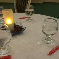 """Столики для зрителей при прослушивании """"Кофейной кантаты"""" :: Galina194701"""