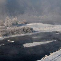 Морозный сибирский пейзаж :: Александр Попов