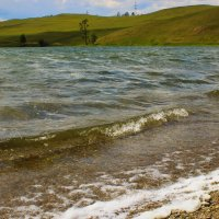 Ветер на озере :: Сергей Чиняев