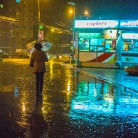 Дождливая ночь :: Игорь Герман