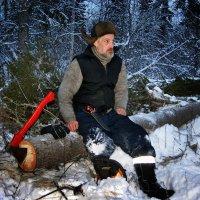 Заготовка дров. :: Евгений Усатов
