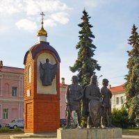 Памятный знак в честь 850-летия основания города Елец. :: Ирина Нафаня