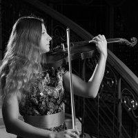 скрипачка Наташа :: Тарас Золотько
