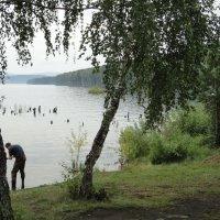 на озере Тургояк(июль 2015 года) :: Валерий Конев