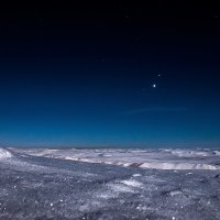 Ночной пейзаж. :: Юрий Харченко