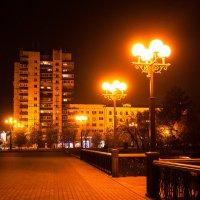 Хабаровск. Ночные фонари :: Нина Насыпова