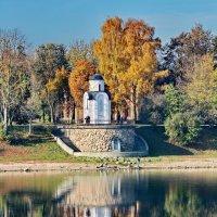 Осень на реке Великой :: Анатолий Шумилин