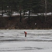 берег зимой :: Сергей Цветков