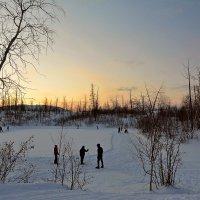Полдень в полярную ночь... :: Витас Бенета