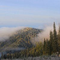 Заморозок в горах :: Сергей Чиняев