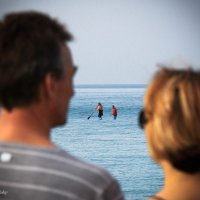 Идут по воде-аки по суху..! :: Николай Волков