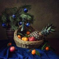 Новогодние фруктовые фантазии :: Ирина Приходько