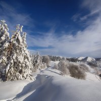 Зимний вид перевала. :: Виктор Гришенков