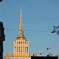 Санкт-Петербург. Здание Адмиралтейства. Вид с ул.Гороховой. :: Фотогруппа Весна.