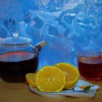 Чай с лимоном у зимнего окна :: Сергей Чиняев