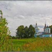 Церковь Димитрия Солунского в Титовском, 1758 :: Дмитрий Анцыферов