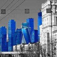 Футуристичная Москва :: Анна Орлова