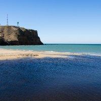 Река Алма впадает в Чёрное море :: Анна Выскуб