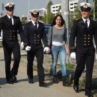 Три друга и подруга :: Natalia Harries