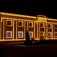 Ночные огни маленького города. :: Анатолий. Chesnavik.