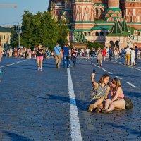 Селфи на Красной Площади :: Минихан Сафин