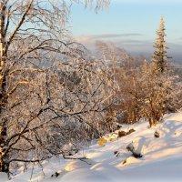 Рассвет над снежным курумником :: Мария Кухта