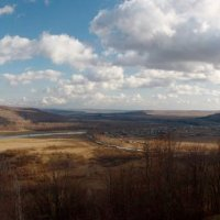 Вид на долину реки Юрюзань,курорт Янган-Тау,Башкирия :: Сергей Величко