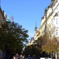 На Пражских улочках :: Ольга