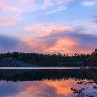 Вечер на озере :: Евгения