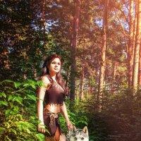Волчица :: Аполлинария