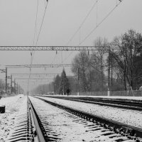 Дорога в зиму :: Елена Миронова
