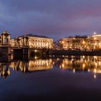 р. Фонтанка, Ломоносовский мост :: Тиша
