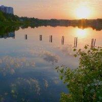 Пыхтинский пруд или речка Ликова :: Alexey YakovLev