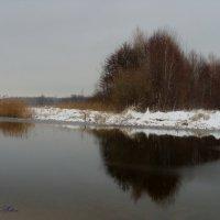 Отражение в ледяной реке :: °•●Елена●•° Аникина♀