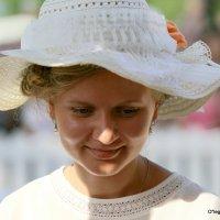 магия женщины в шляпке :: Олег Лукьянов