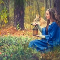 Волшебный лес :: Юлия Лебедева
