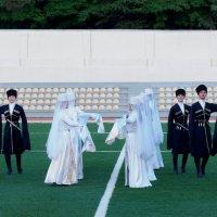Танец на футболе :: Мария Коледа